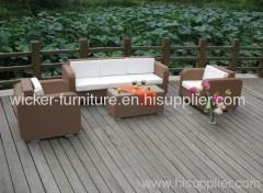 Patio garden wicker furniture sofa sets
