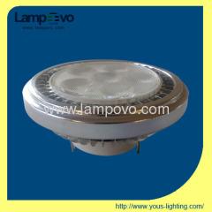 high quality 6*2W high power AR111 LED 600lm