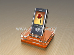 Countertop acrylic POS smartphone display stands
