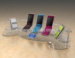 Custom countertop acrylic display stands for smartphones