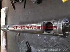 extrusion twin screw barrel