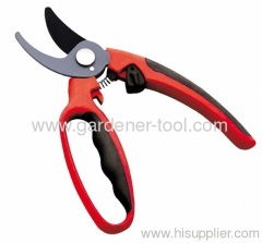 """8""""garden by-pass pruning shear with round handle preventing from damage"""