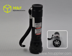 multifunctional battery operated 6LED+1 laser laser led flas