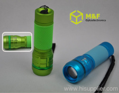 cree focus adjustable mini pocket led flashlight