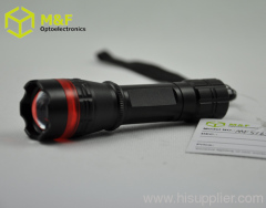 strong power USA CREE 1* 1W warm white led flashlight