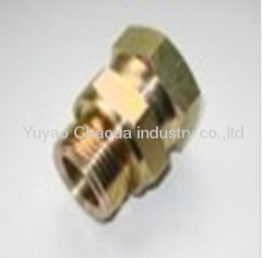 METRIC THREAD WITH CAPTIVE SEAL/METRIC FEMALE 24°CONE O-RING