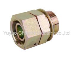 BSP THREAD STUD ENDS WITH O-RING SEALING /METRIC FEMALE24°CO