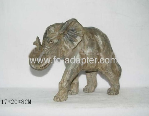 Handicraft Wooden Carved Elephant