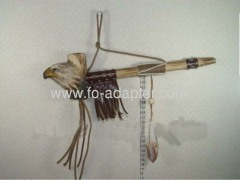 Eagle Wooden Carved Tobacco Pipe