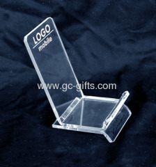 Cheap retail perspex display cases for smartphones