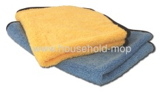 two sided towel one side of ultra plush microfiber