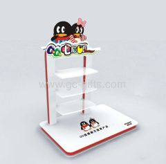 Retail counter acrylic display stands