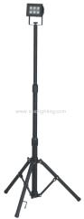 6W (6x1W) Aluminium LED Floodlight with portable tripod