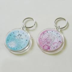 Cheap promotional acrylic key chain