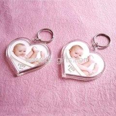 Promotional acrylic photo key chain