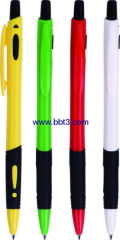 High quality promotional ballpoint pen with rubber grip