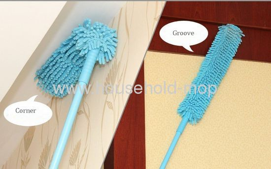 microfiber chenille duster duster with extendable handle from china manufactu. Black Bedroom Furniture Sets. Home Design Ideas