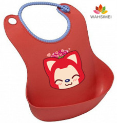 fashion and newest silicone baby bib in wholesale