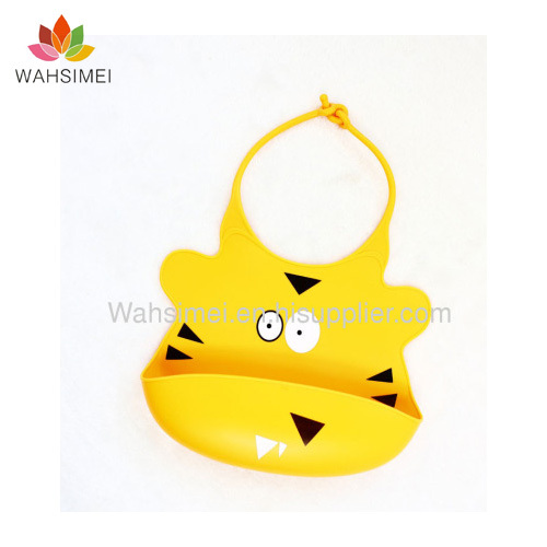 silicone baby bibs in any cute design with free sample