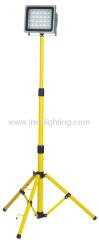 Single portable 30W (30x1W) Aluminium LED Flood Light