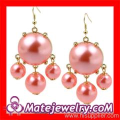 J Crew Fake Pearl Earrings