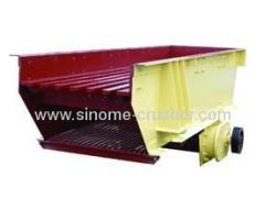 76-165m³/h Single Deck Vibrating Feeder