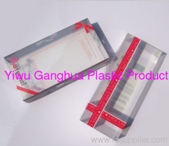 printed PET clear box with holes and window