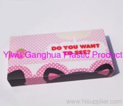 Lovely PVC storage box untransparent box