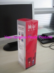 PP package box for cups and bottles