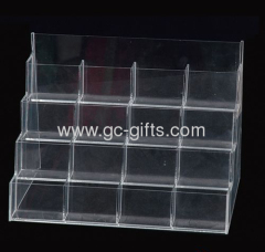 Retail plastic cards display stand