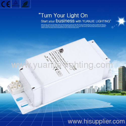 HS Lamp 400W Magnetic ballast 50/60HZ 4.45A