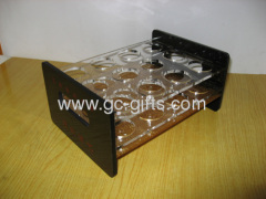 Tabletop plastic wine holder