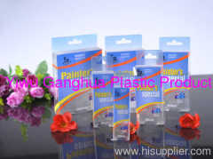 PET clear box offset printing package for gifts/personal care products