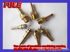 steel hose connector precision custom-made parts with big quality and high quality