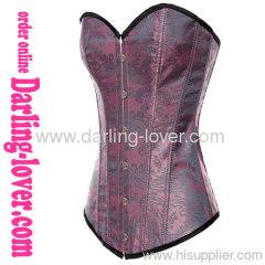classic elegant sexy purple corsets