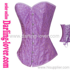 prints flowers overbust corset