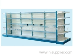 double-side racking shelf supermarket equipment shelving