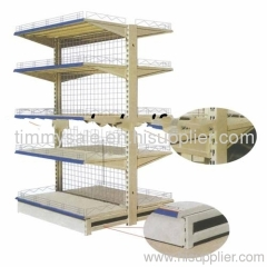 Medium-Duty racking Plain Back Panel Supermarket Shelf