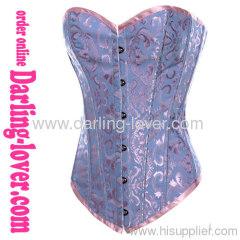 cotton calico sxy corset