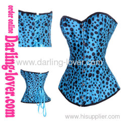 cheaper blue color sexy overbust