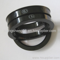 74.1 OD plastic and aluminum rings