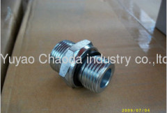 METRIC MALE 74°CONE/SAE O-RING BOSS L-SERIES ISO 11926-3