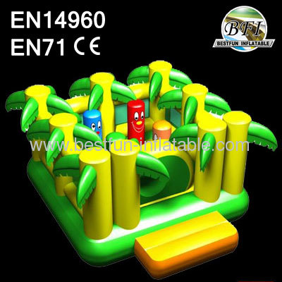 New Jungle Inflatable Trampoline