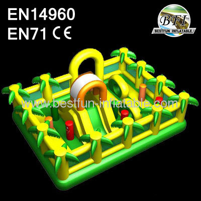 Jungle Inflatable Bouncer For Sale