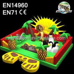 2014 New Madagascar Inflatable Children Playground