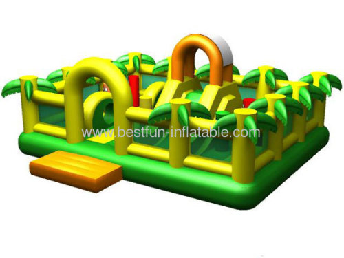 Jungle Inflatable Bouncer 2013