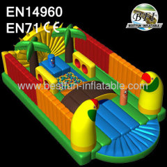 2014 Popular Parrot Inflatable Amusement Park