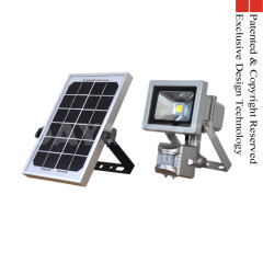 Solar 10W PIR Motion LED Home Garden Security Light