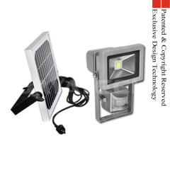 Solar PIR Sensor Motion LED Floodlight