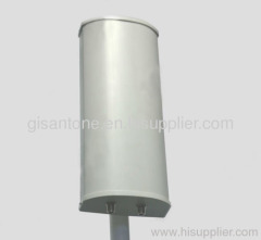 698-2700MHz LTE 4G Dual Polarization Sector Panel Antenna With 65 Horizontal Dual Band 8dBi High Gain
